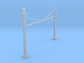 CATENARY PRR 4 TRACK N SCALE  in Smooth Fine Detail Plastic