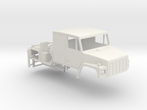 1/25 International SF 2670 Series Cab with Interio in White Natural Versatile Plastic