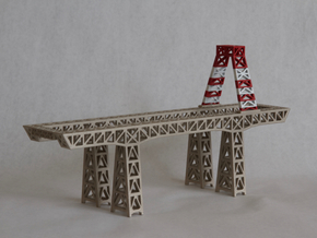 "8"" Hunters Point crane in White Strong & Flexible"