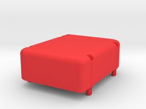 SCP2 Piggyback Power Box in Red Strong & Flexible Polished
