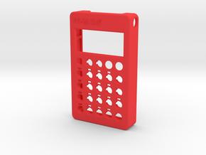 PO-28 case front in Red Processed Versatile Plastic