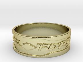 Warrior Forever Ring (Size 10.25) in 18k Gold