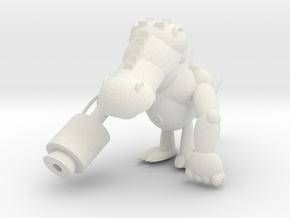 Mix Monster in White Natural Versatile Plastic