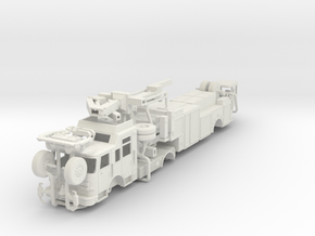 Tiller Rescue64 in White Natural Versatile Plastic