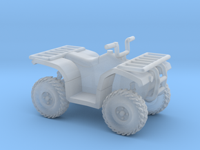 HO Scale Quad ATV in Smoothest Fine Detail Plastic