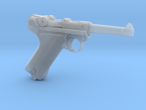 1/4 Scale Luger in Smooth Fine Detail Plastic