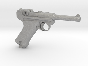 1/4 Scale Luger in Aluminum