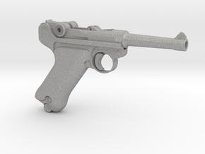 1/4 Scale Luger in Aluminum