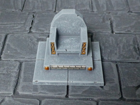 Dwarf Throne in Smooth Fine Detail Plastic
