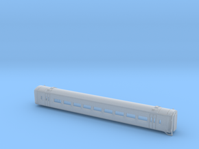 N Gauge Class 158 Version 1 Centre Carriage in Frosted Ultra Detail
