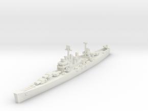 Brooklyn class cruiser 1/1800 in White Strong & Flexible