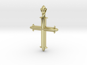 Cross flory ver1 in 18k Gold