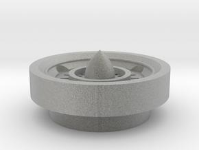 Saber Plug Turbin Top Piece in Metallic Plastic