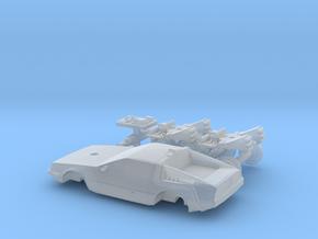 DeLorean Time Machine Train/Car N 1:160 V.1 in Smooth Fine Detail Plastic
