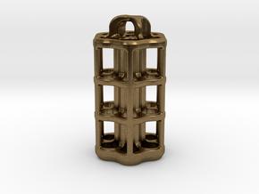 Tritium Lantern 5D (3.5x25mm Vials) in Natural Bronze