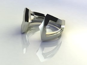 True Focus Ring in 14k White Gold