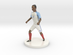 English Football Player in Glossy Full Color Sandstone