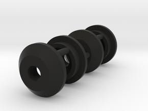 AMPro Hornet Shock Collar in Black Natural Versatile Plastic
