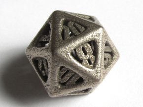 Thoroughly Modern Die20 in Stainless Steel