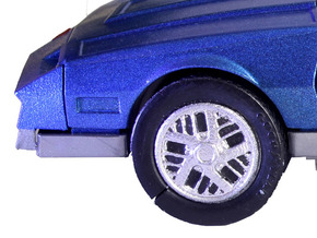 M.A.S.K. Pontiac Firebird Rims for Thunderhawk in White Strong & Flexible Polished