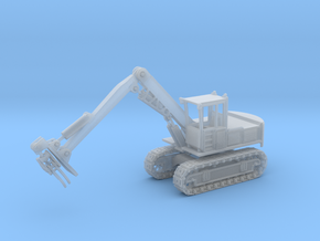 Hitachi Log Loader Z Scale in Smooth Fine Detail Plastic