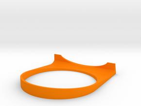 The CoffeeHook in Orange Processed Versatile Plastic