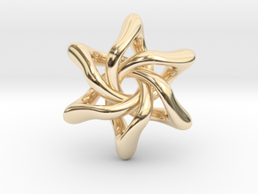Exia - 45mm in 14k Gold Plated Brass