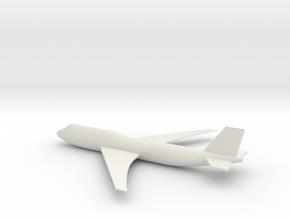 747 Model in White Strong & Flexible