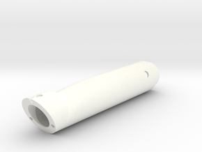 DS Handle Body in White Processed Versatile Plastic