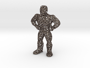 Meshman in Polished Bronzed Silver Steel