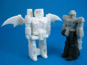 Dracula TargetMonster (5mm Transforming Weapon) in White Natural Versatile Plastic