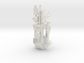 1/6 scale Sentrygun in White Natural Versatile Plastic