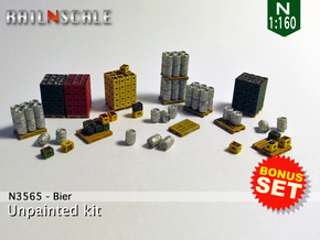 BONUS SET Bier (N 1:160) in Smoothest Fine Detail Plastic