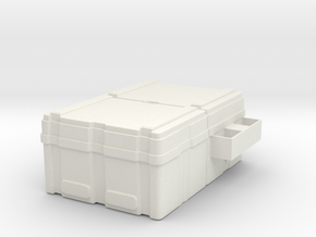 Powerloader crate 1:18 scale in White Strong & Flexible