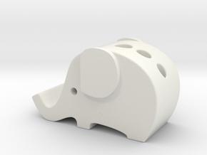 elephant iphone 6se holder in White Natural Versatile Plastic