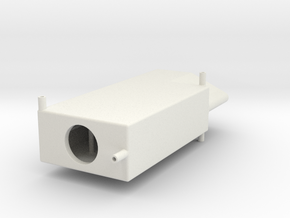 Fuel Tank 120ccm Gieseke Nobler in White Strong & Flexible