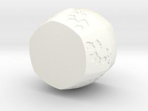 Ivy Vase in White Processed Versatile Plastic