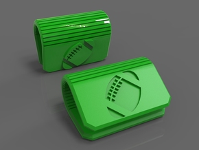Webcam Privacy Cover Football Edition in Green Processed Versatile Plastic