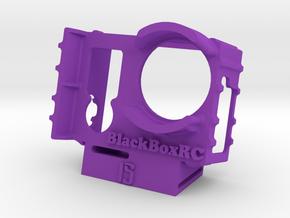 ExoPro GoPro 3 & 4 WEDGE Case (15) in Purple Processed Versatile Plastic