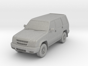 1:160 Isuzu Trooper in Raw Aluminum