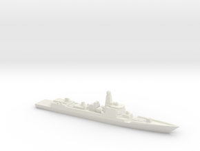 Type 052D Destroyer, 1/2400 in White Natural Versatile Plastic