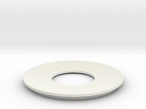 Lieberkuehn Reflector 58mm Dia. 101.6mm WD in White Natural Versatile Plastic