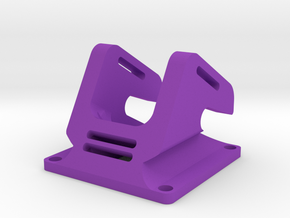 FPV Mount- HS1177M (unwrapped) in Purple Strong & Flexible Polished