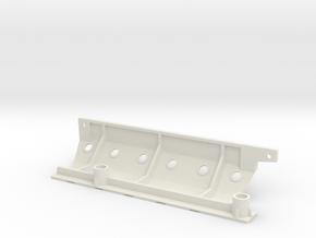 Skid plate left Adventure D90 Gelande 1:10 in White Natural Versatile Plastic