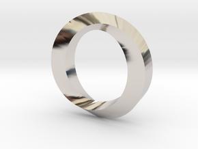 Impossible Loop Pendant in Platinum