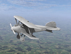 Albatros D.III (OAW late version) in White Natural Versatile Plastic: 1:144