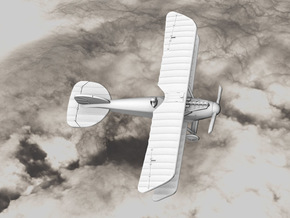 Albatros D.III (early version) in White Natural Versatile Plastic: 1:144
