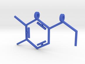 Dopamine Pendant in Blue Processed Versatile Plastic