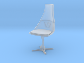 """TOS Chair 115 1:10 Scale 7"""" in Smooth Fine Detail Plastic"""