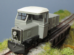 009 Clogher Valley Unit in White Natural Versatile Plastic